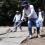 Gobierno Municipal de Zamora, continua con reconstrucción de canchas.