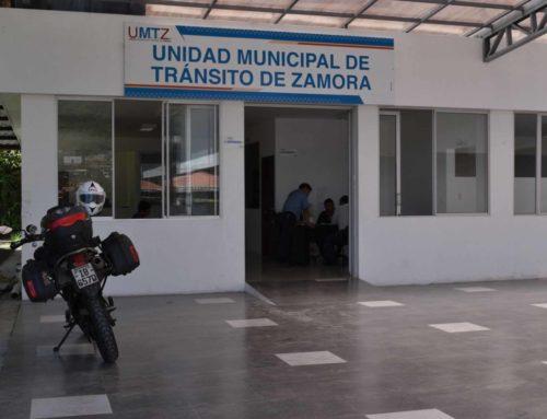 Unidad Municipal de Tránsito de Zamora reinicia procesos de matriculación.